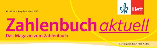 Zahlenbuch aktuell Banner