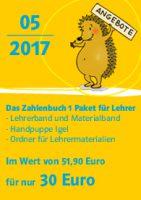 Blog-Angebot Mai 2017: Zahlenbuch 1 Einsteigerpaket