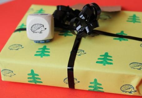 Basteltipp Geschenkpapier