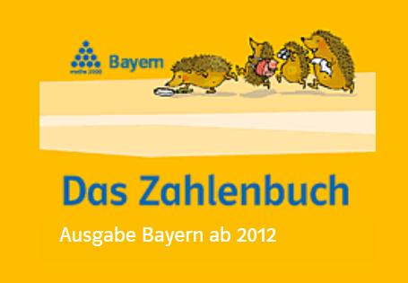 ZAHLENBUCH Ausgabe Bayern