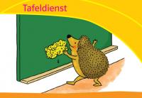 Schulstart in der Grundschule: Zahlenbuch-Dienstekärtchen