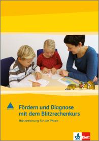 Zahlenbuch Cover Fördern und Diagnose mit dem Blitzrechenkurs