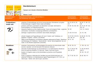 Zahlenbuch Synopse