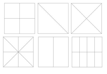 Dreiecke und Vierecke